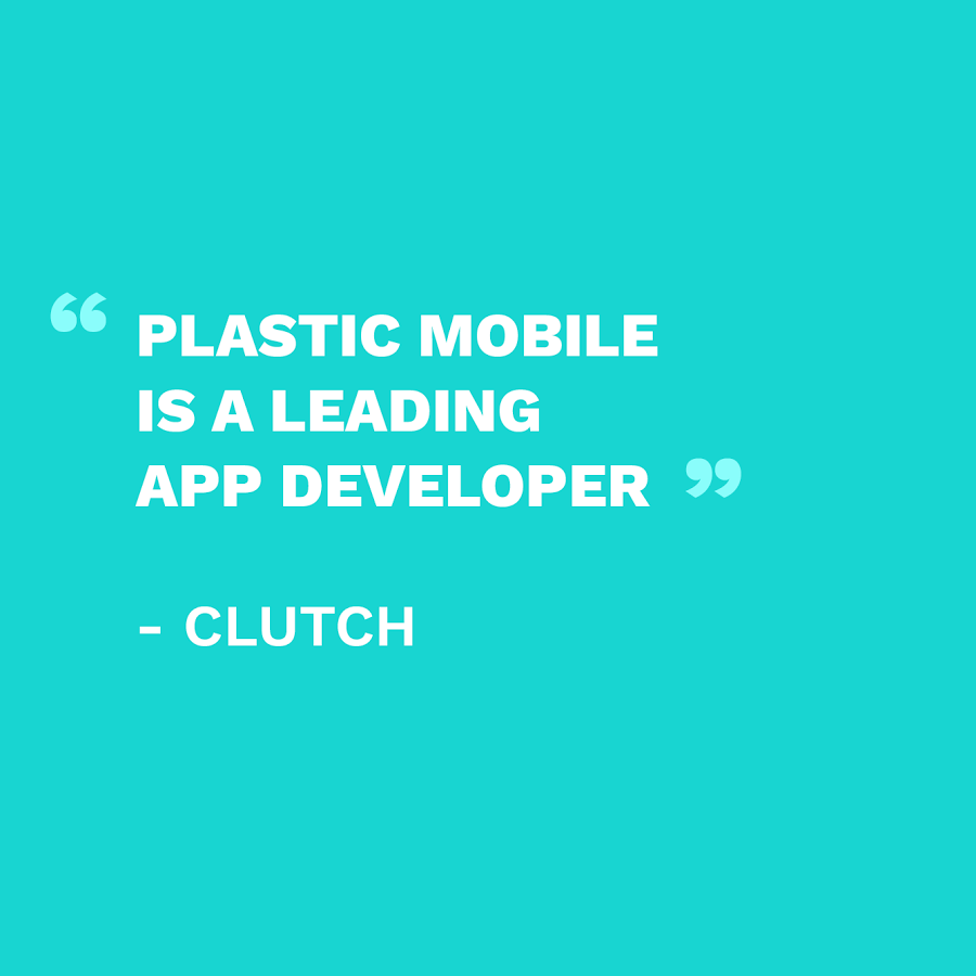 PLASTIC NAMED A LEADING APP DEVELOPER
