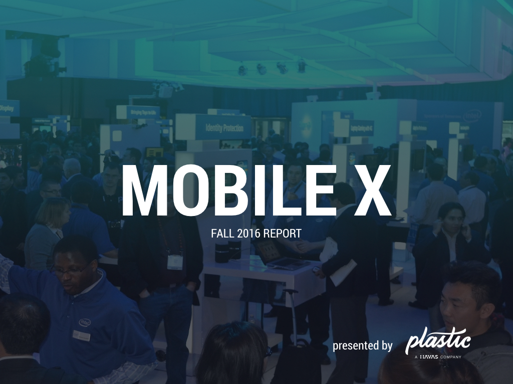 Mobile's Hottest Trends in Fall Mobile X Report